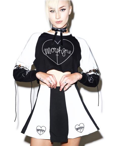 Hypnosis Skater Skirt
