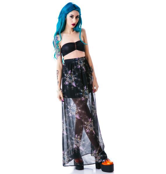 Iron Fist Nightmare Catcher Maxi Skirt