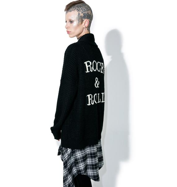 Gypsy Warrior Rock & Roll Cardigan