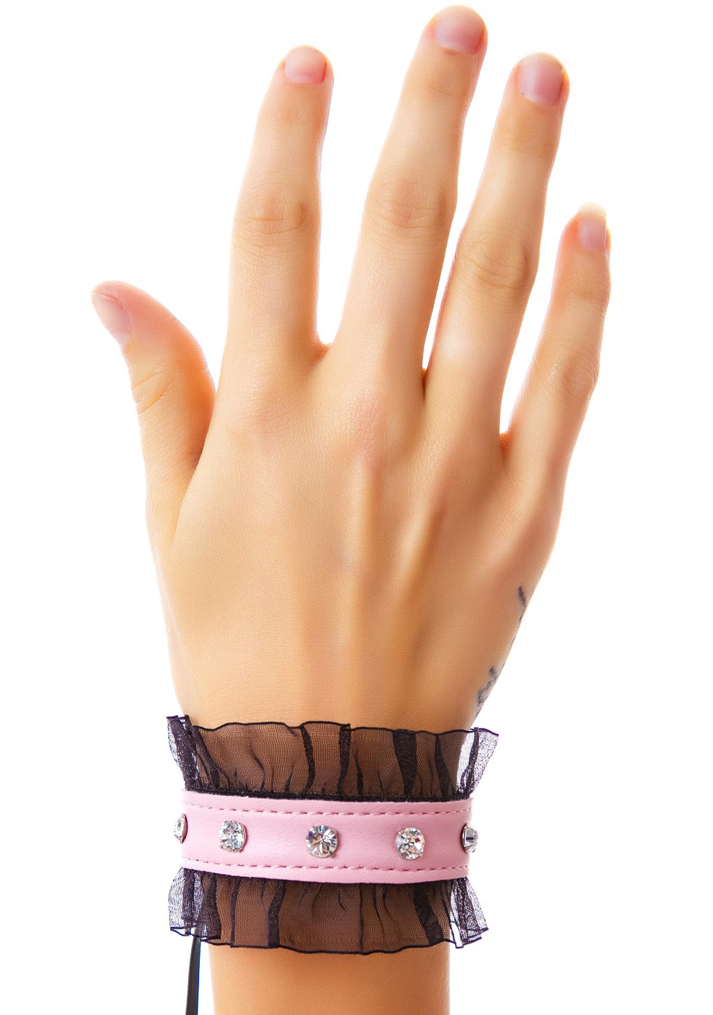 Club Exx Elvira Lace Trim Bracelet