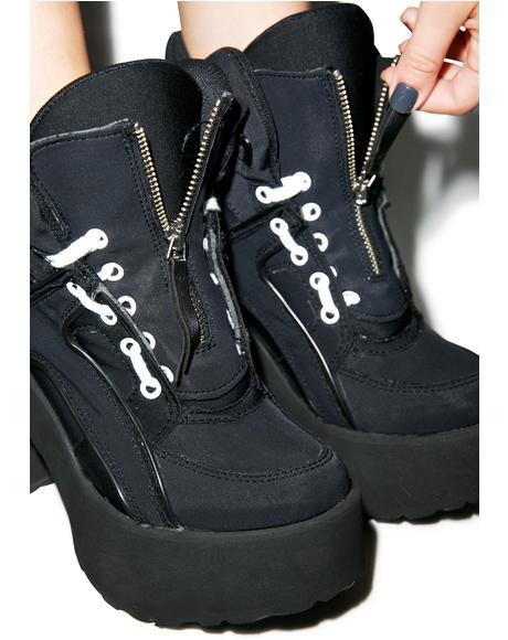 X Buffalo Neoprene Boots