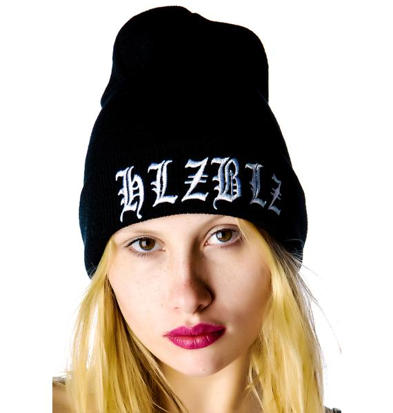 HLZBLZ x Belle of the Brawl Orale Beanie