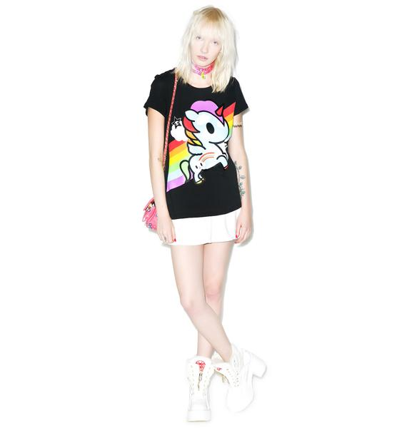 Tokidoki Rainbow Road Tee