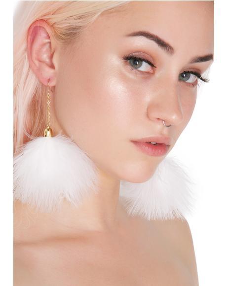 Pure Fluff Earrings
