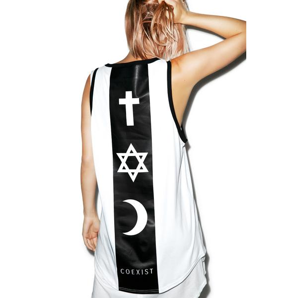 Defend Paris Coexist Backbone Tank