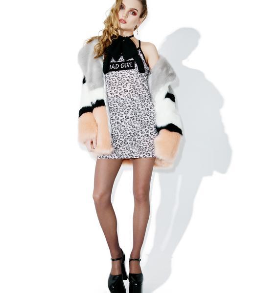 one spo Leopard Bad Girl Dress