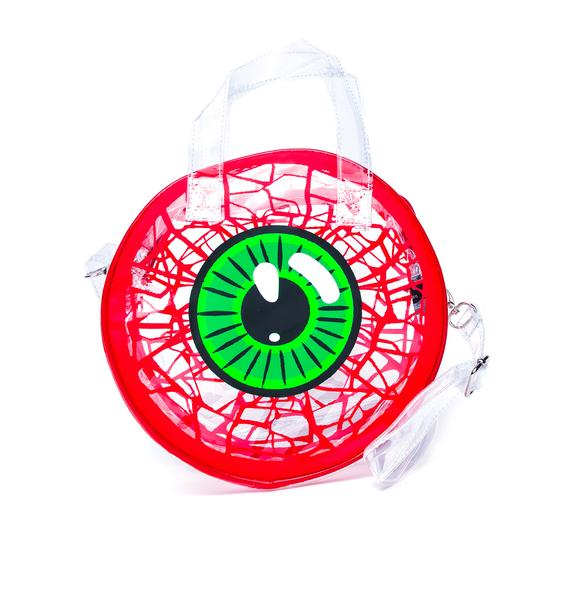 Kreepsville 666 Clear Eyeball Handbag