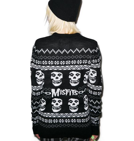 Iron Fist Merry Misfits Sweater