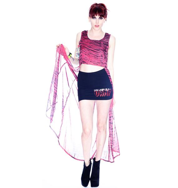 Evil Twin Red Tide Back Top