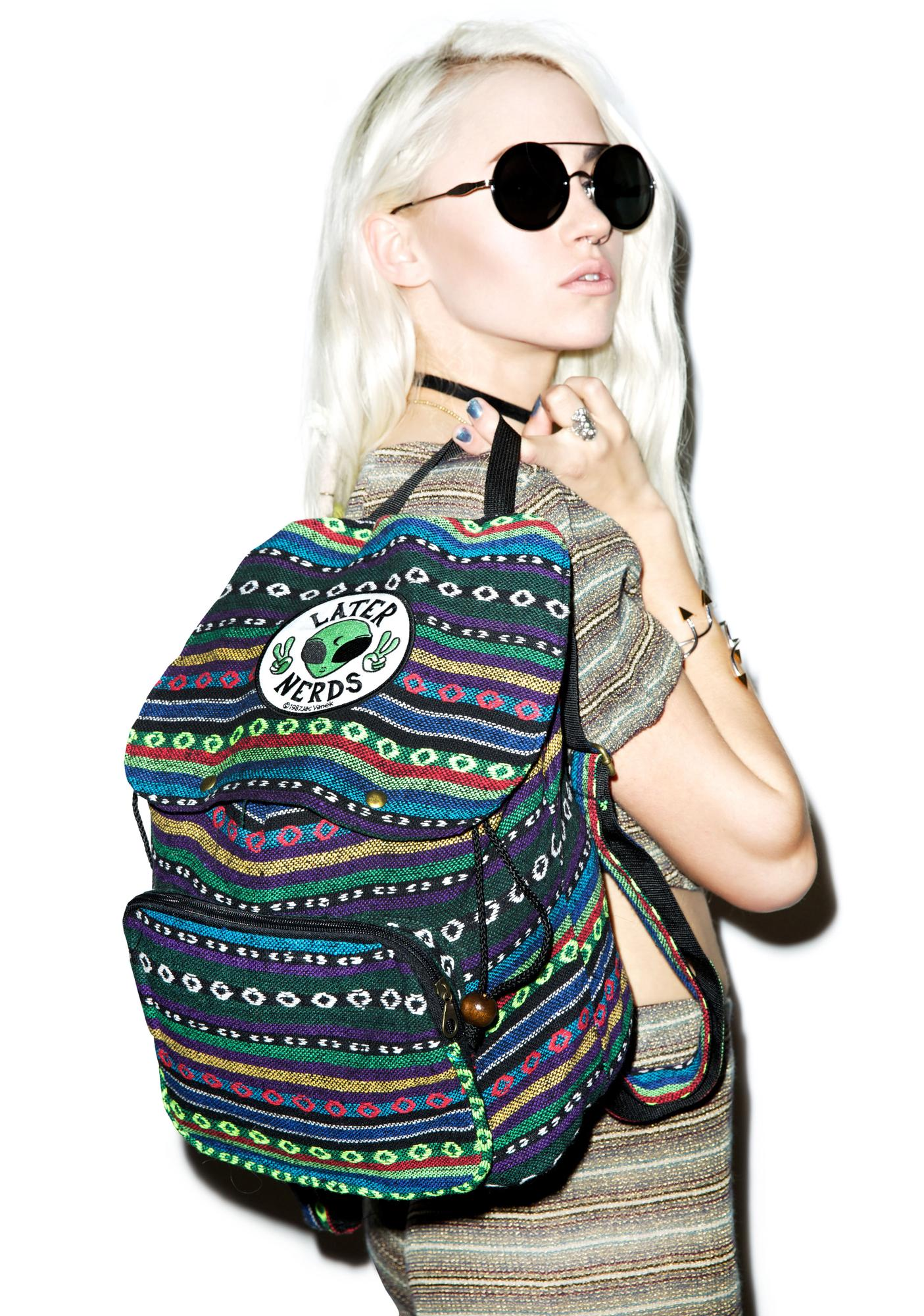 Jac Vanek Later Nerds Backpack