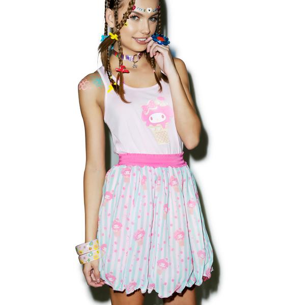 Japan L.A. My Melody Ice Cream Sweetie Chiffon Skirt
