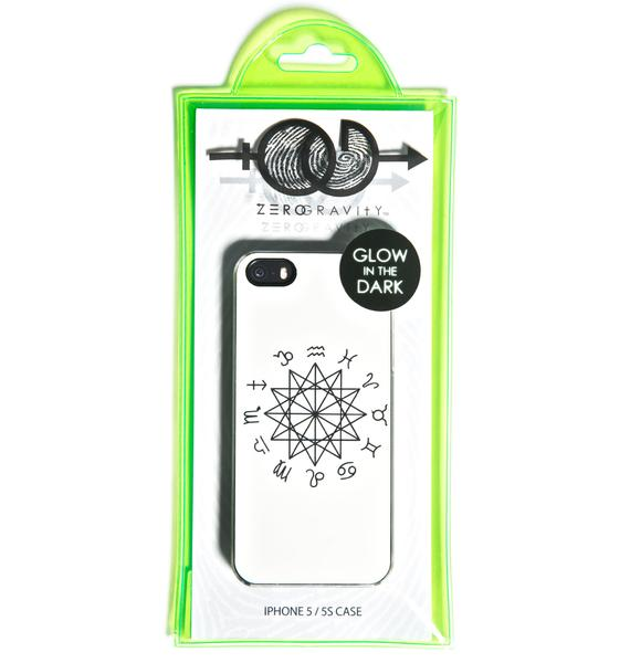 Zero Gravity Zodiac Glow in the Dark iPhone 5/5S Case