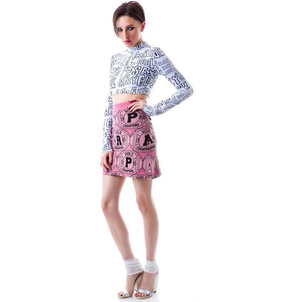 Joyrich Paris Champ Knit Skirt