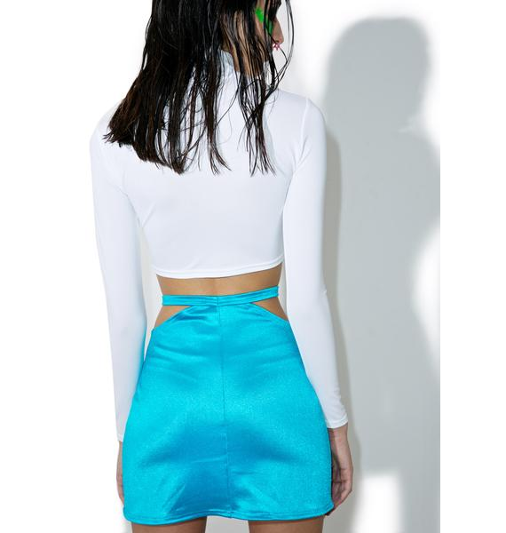 Peep Show Mini Skirt