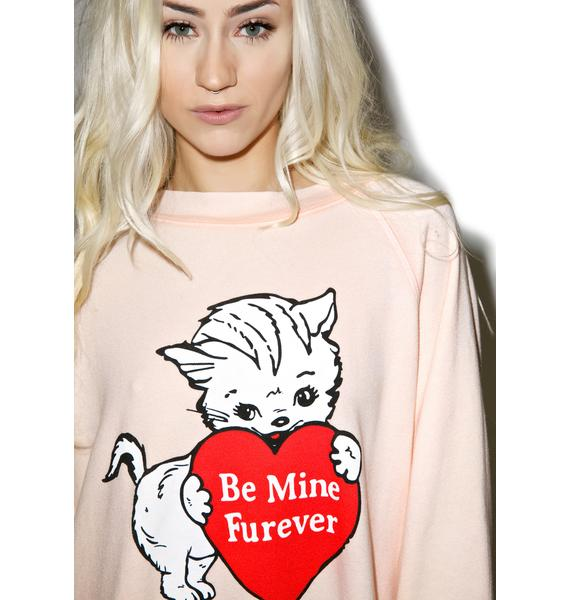 Wildfox Couture Furever Kim's Sweater