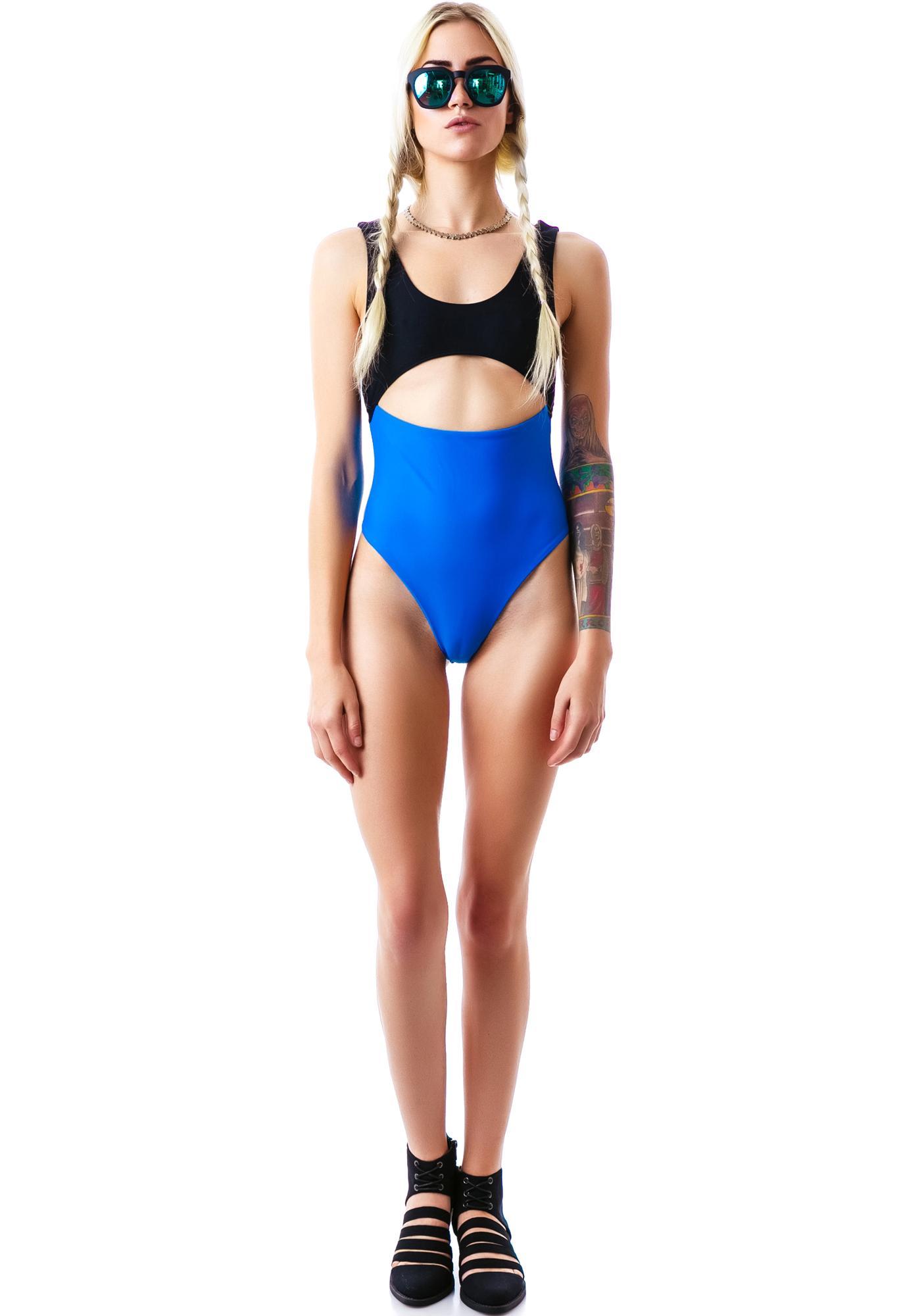 Mandalynn Swim Azure Olivia One Piece
