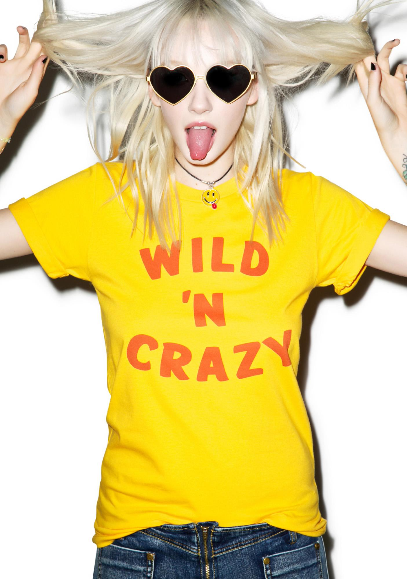 Petals and Peacocks Wild N' Crazy Tee