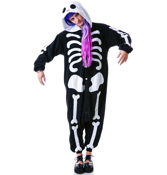 Sazac  Kigurumi Skeleton