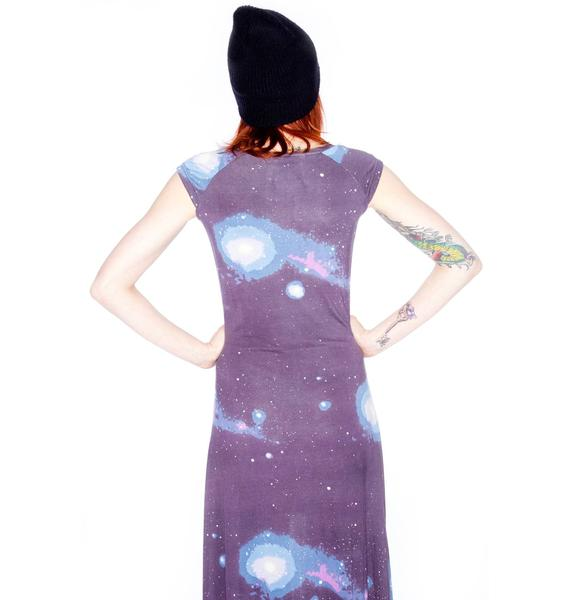 Sauce Cosmic Long Dress