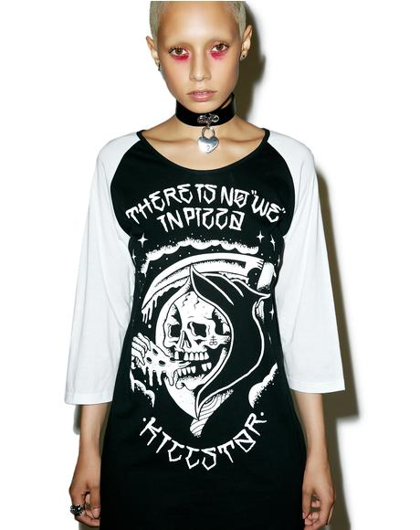 There Is No We Raglan Tee