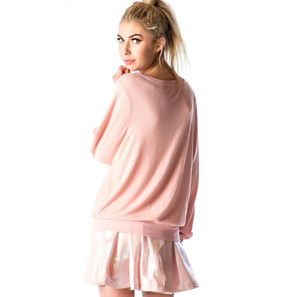 Wildfox Couture Cry Baby Baggy Beach Jumper