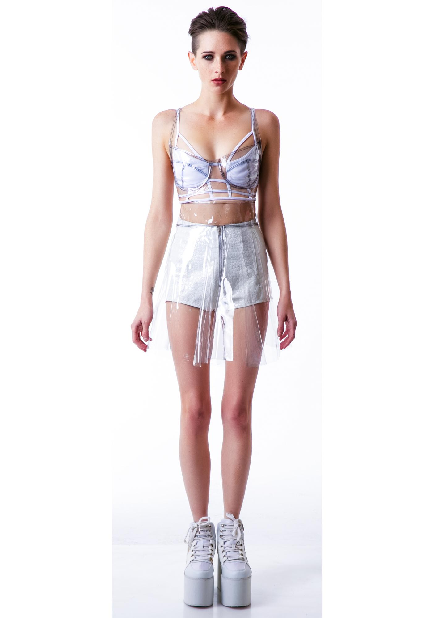Chromat Conical City Bra