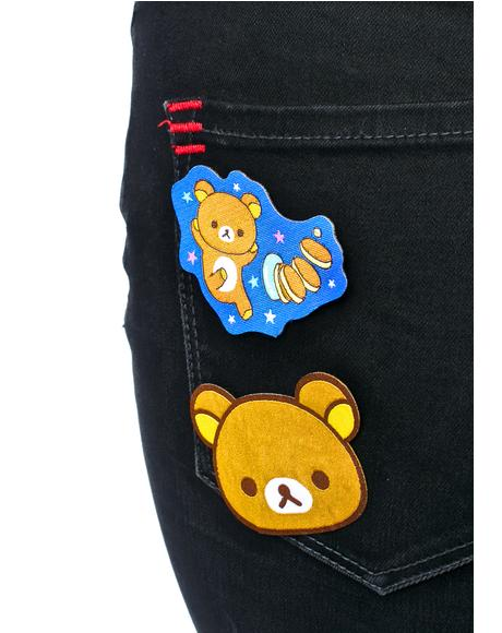 Rilakkuma Iron-On Patch Set