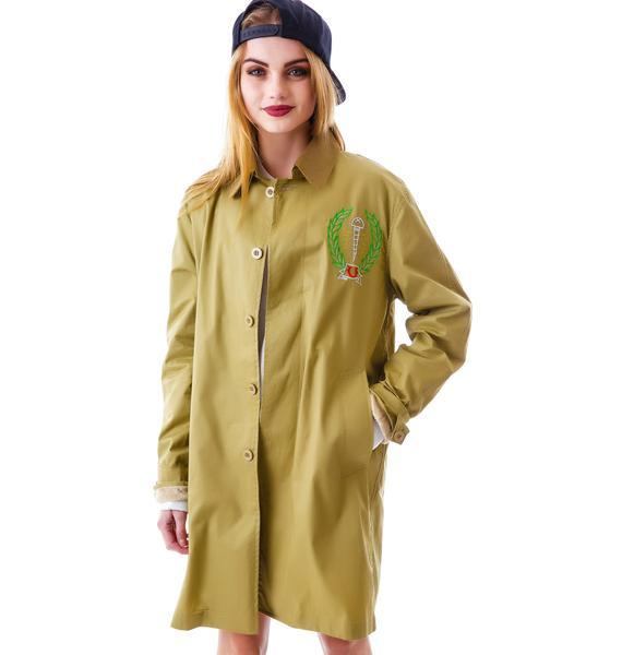 UNIF Screw Up Trench Coat