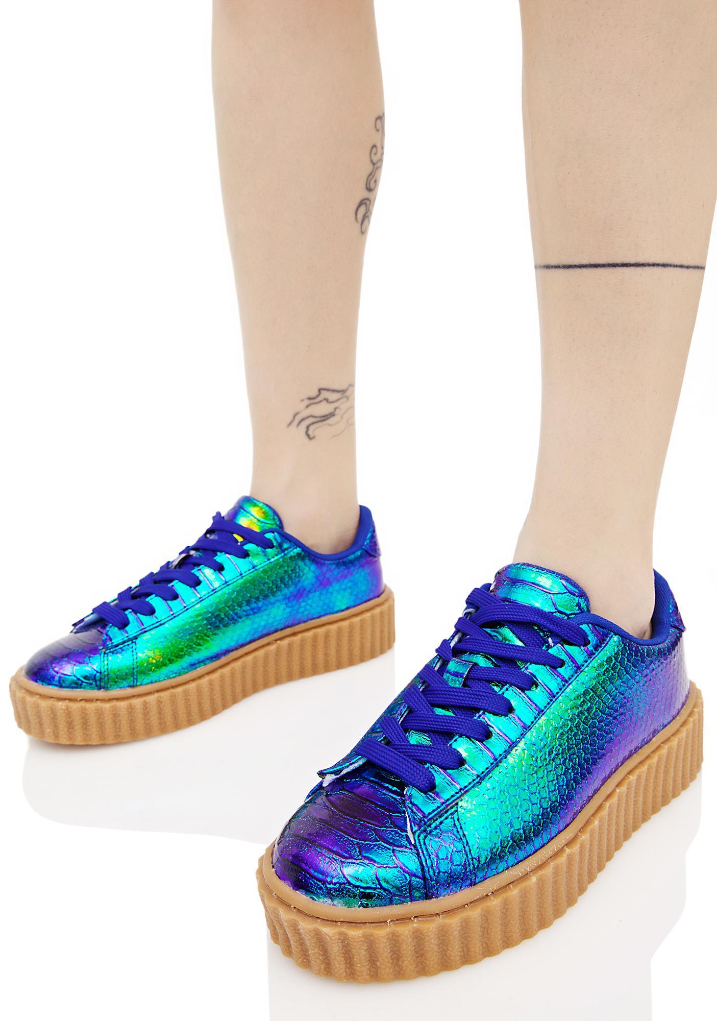 Mermaid Feel It All Creeper Sneaker