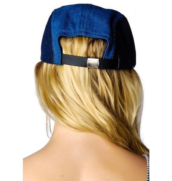 Dimepiece 4 Way Denim Hat