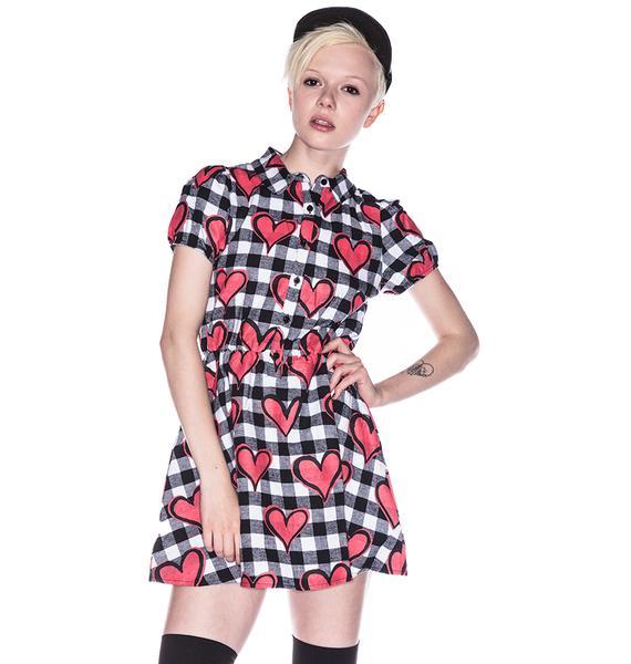 Joyrich Hyper Heart Uniform Dress