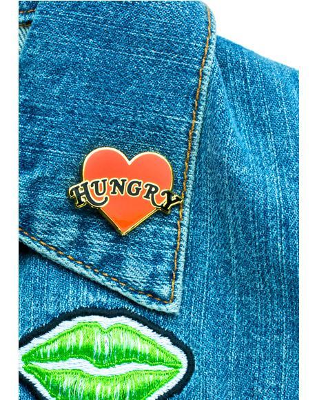 Hungry Heart Pin