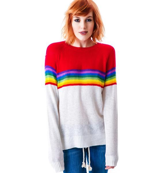 Wildfox Couture Ski Lodge Mini 70's Sweater