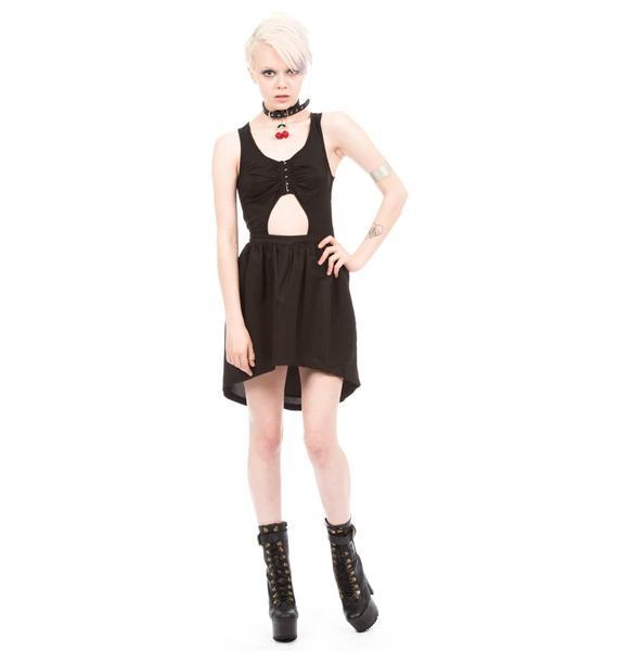 HLZBLZ X Belle Of The Brawl Outsiders Peek-A-Boo Cut Out Dress