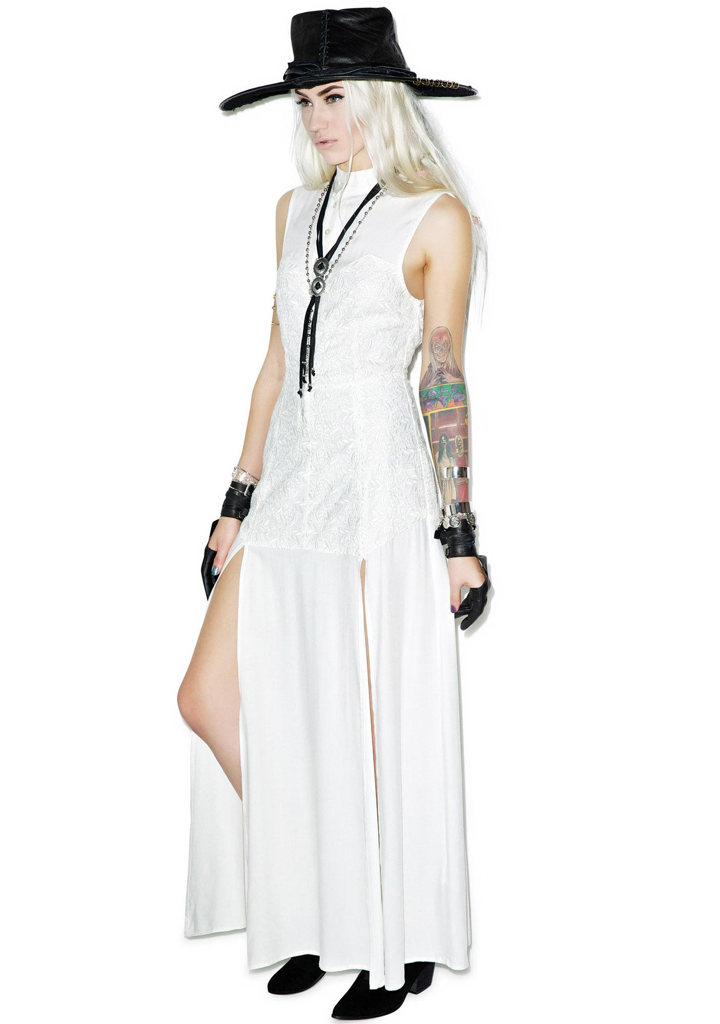 Somedays Lovin Persistence Lace Maxi Dress