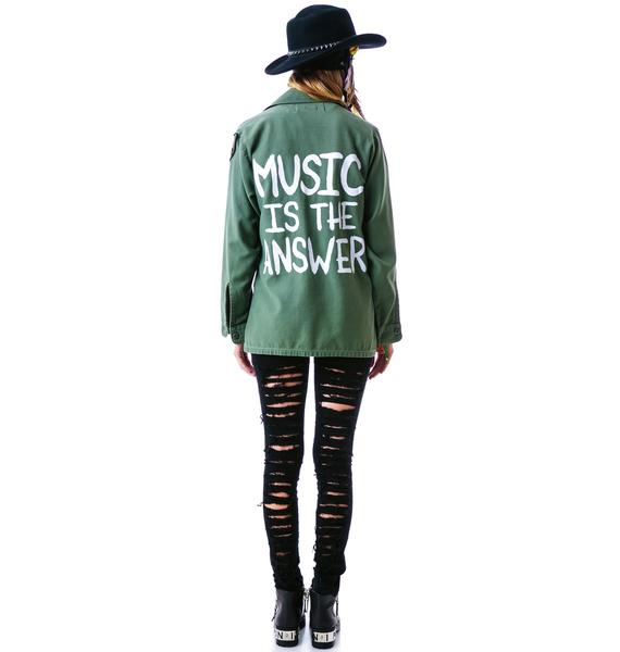 Jac Vanek Music is the Answer Jacket