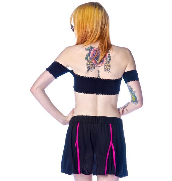 One Teaspoon Sense of Doubt Skirt