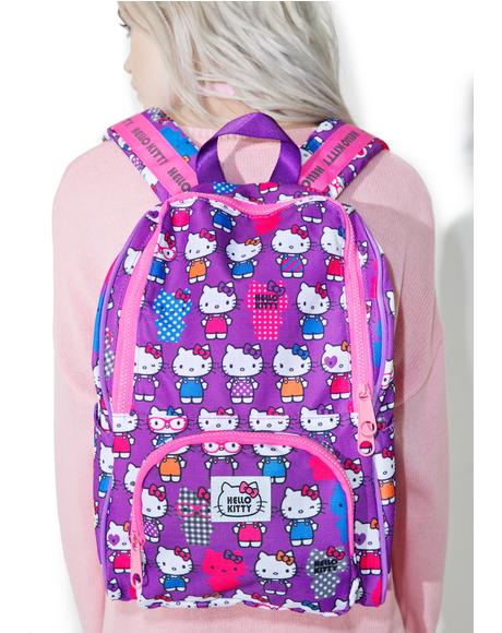 Classic Kitty Small Backpack