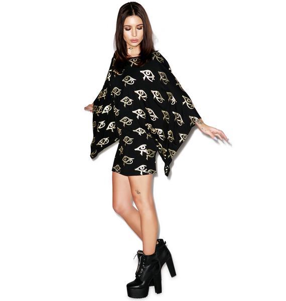 Killstar Ra Kimono Dress