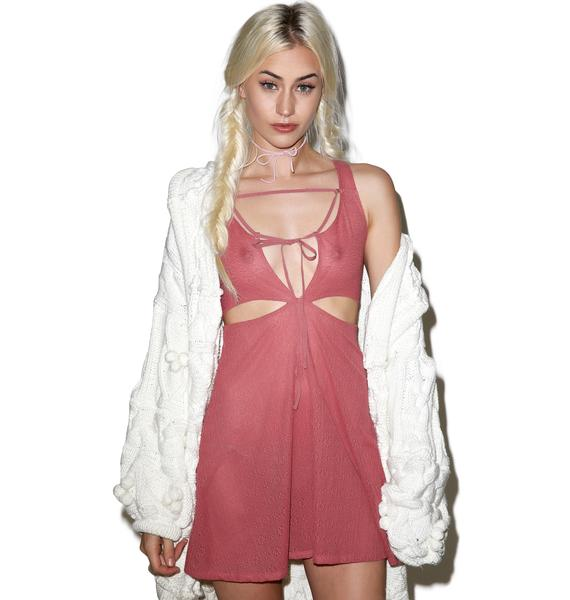 For Love & Lemons Loren Cut Out Nighty