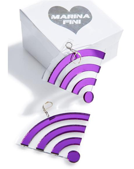 Wifi Earrings