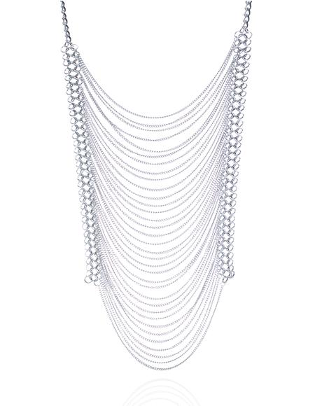 Kween Tiered Chain Necklace