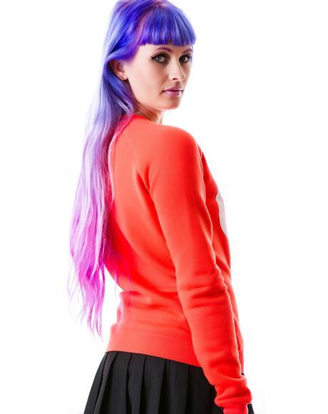 Care Free Pullover Sweatshirt