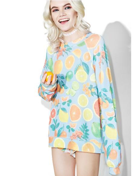 Fresh Citrus Sommer's Sweater