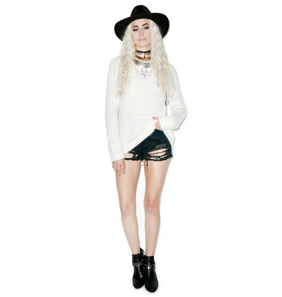 For Love & Lemons Knitz Spring Fling Knit Top