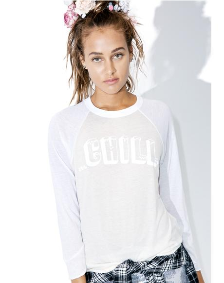 Chill Out Rebel Raglan