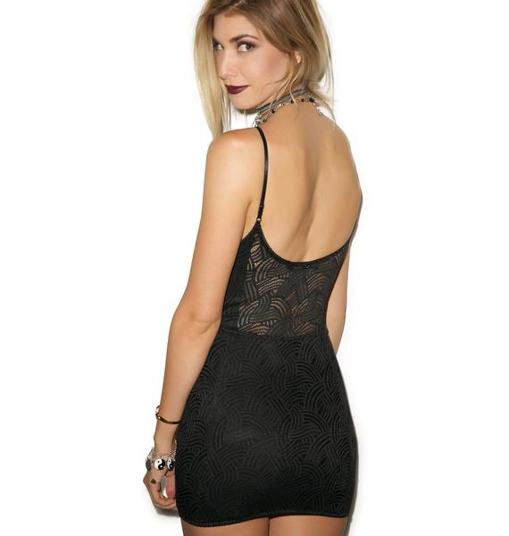 For Love & Lemons Show Off Lace Slip Dress