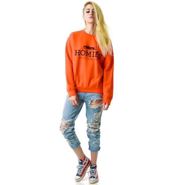 Brian Lichtenberg Homies Pullover Sweatshirt