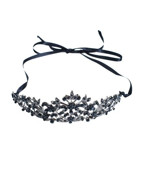 Black Crystal Tiara