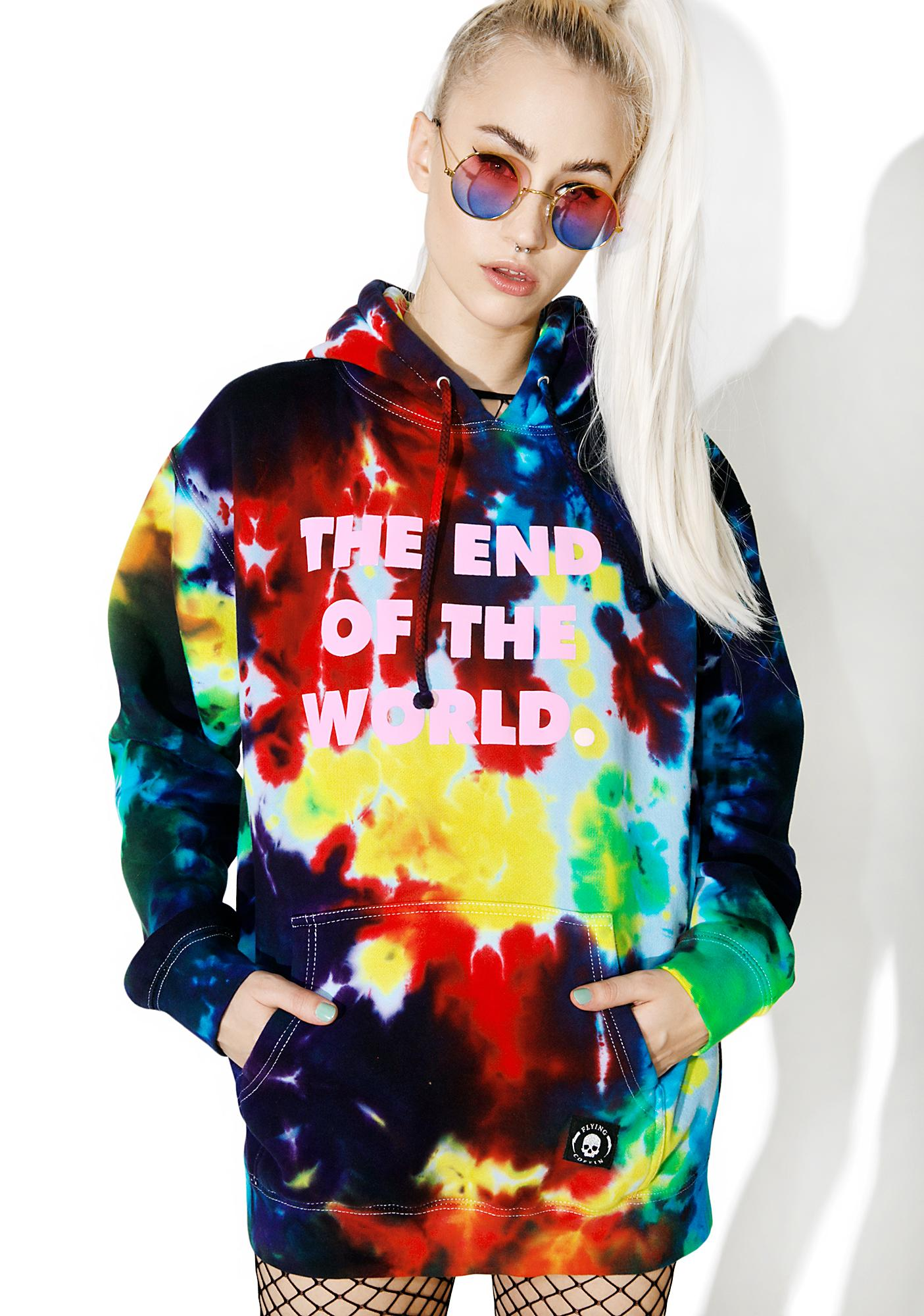 Flying Coffin The End Pullover Hoodie